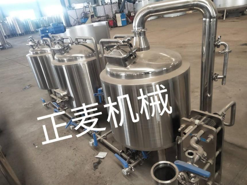 正麦机械设备,定制各种型号啤酒设备