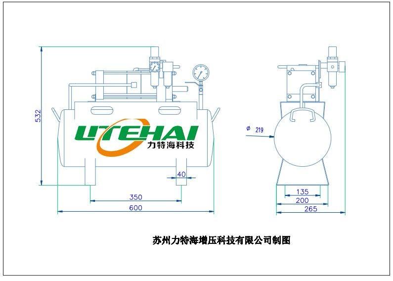 广东空气增压泵压力泵SY-220专业制造商