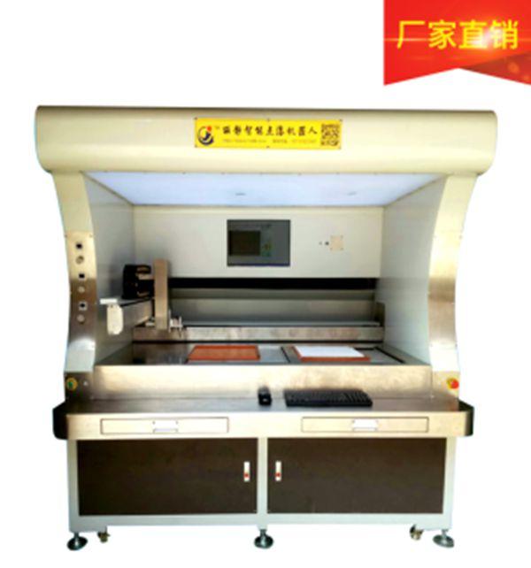广东L-S2020双工位视觉麻将骰子点漆上色机