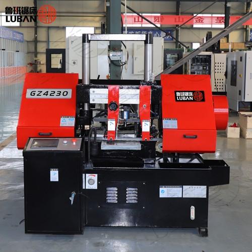 鲁班质量同步欧洲 GZ4230数控金属锯床 设计合理