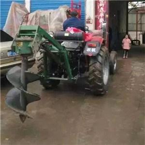 上海大马力挖坑机      水泥杆挖坑机价格