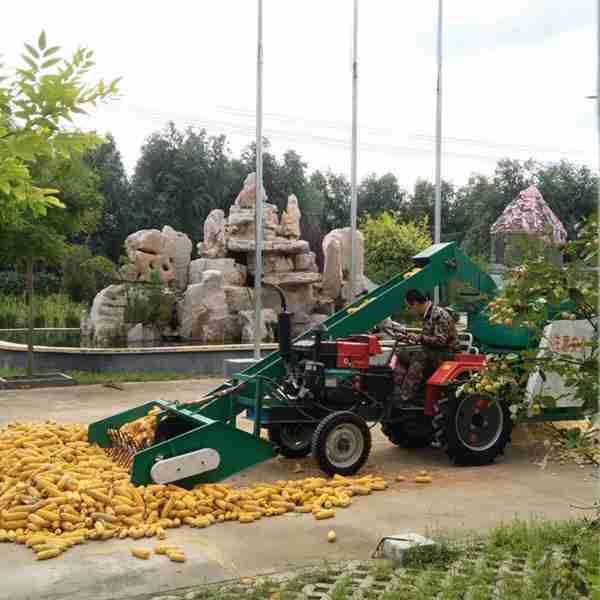 衡水自动装车装袋玉米脱粒机图片
