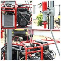 四川小型山地钻机便携式山地取样勘探钻机