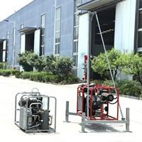 贵州高山勘探小型气动打井机环境勘察气动钻机