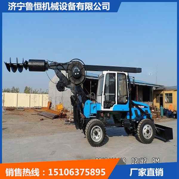 济宁大孔径轮式旋挖钻机深度可到15米