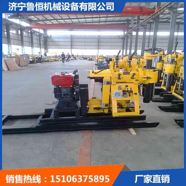 可移动的钻机济宁鲁恒优质HWD-160液压水井钻机