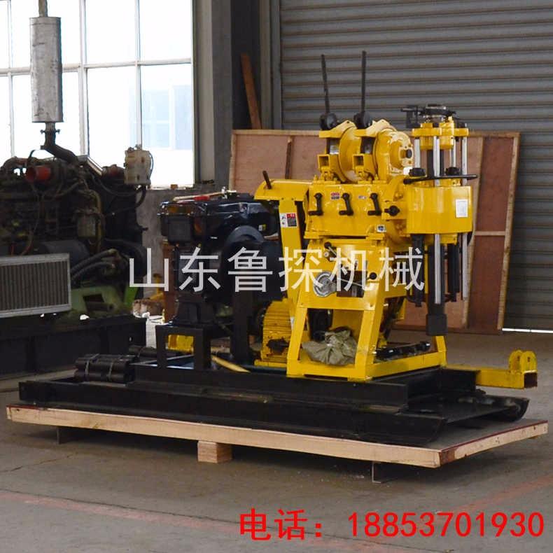 山东鲁探HZ-200YY地质钻探机械设备全液压工程取样水钻机
