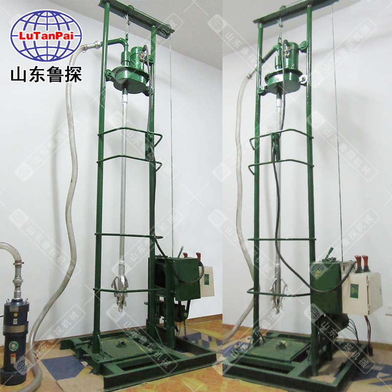 第四代小型全自动打井机土层一天两口井 家用电动钻井机