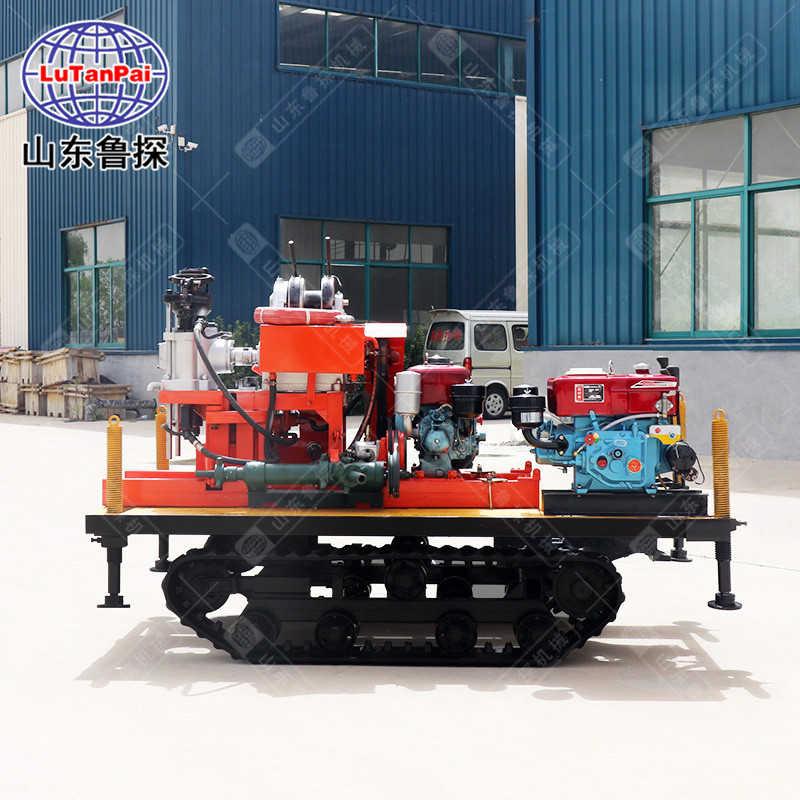 厂家提供履带款液压岩心钻机YQZD-30地质勘探设备 行走方便