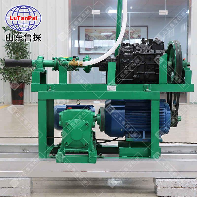 横向打井设备HJD山泉水开采钻机 水平建井机横着打井机