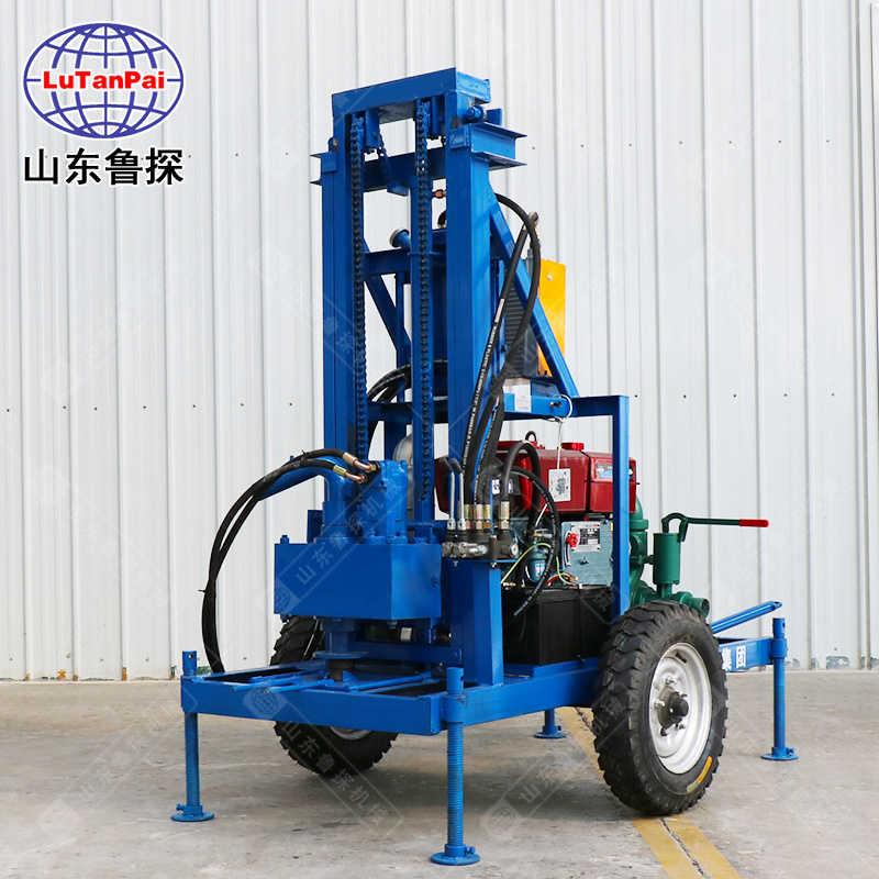 山东鲁探SJCY型柴油机液压打井机民用水井钻机吃水井建井机