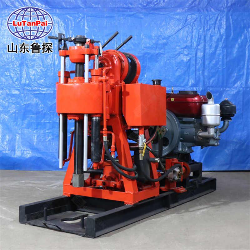 鲁探新品XY-100 全液压水井钻机 大功率打水井设备 钻孔效率高
