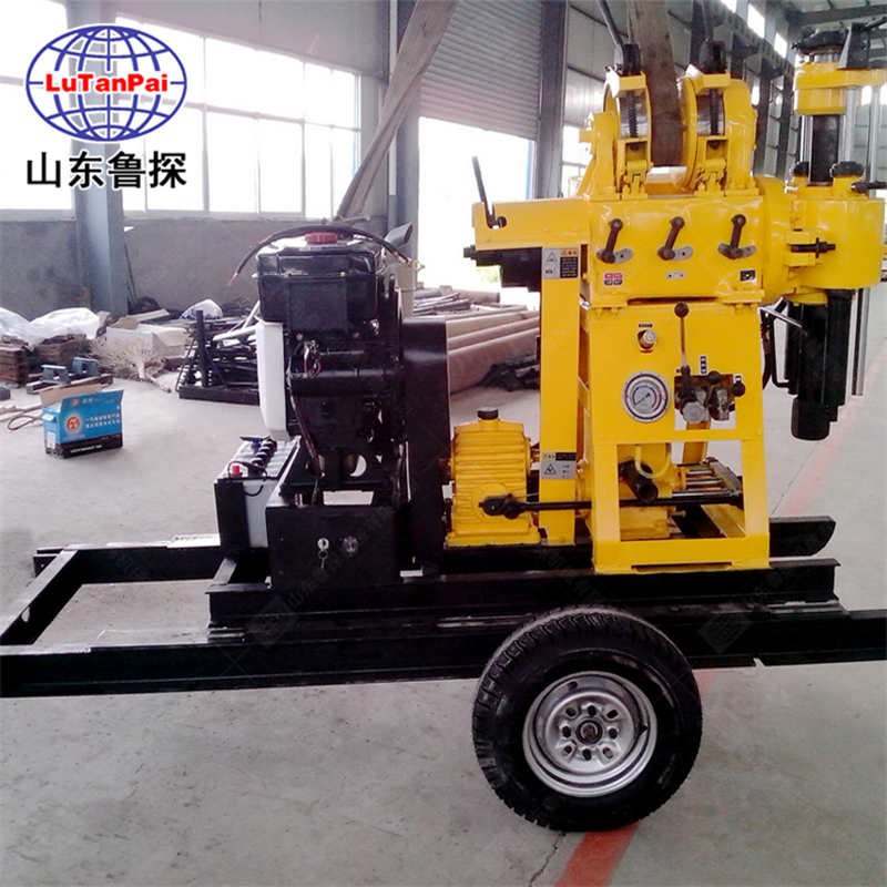 XYX-200行走式钻井机 全自动钻深水井钻机 钻探设备