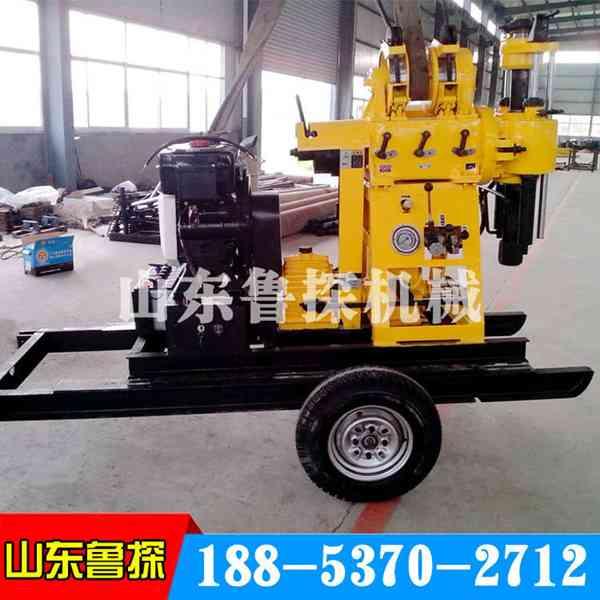 鲁探XYX-130轮式勘探钻机机动灵活的液压工程钻机