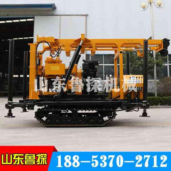 山东鲁探XYD-200履带式勘探钻机省时省力的液压工程钻机