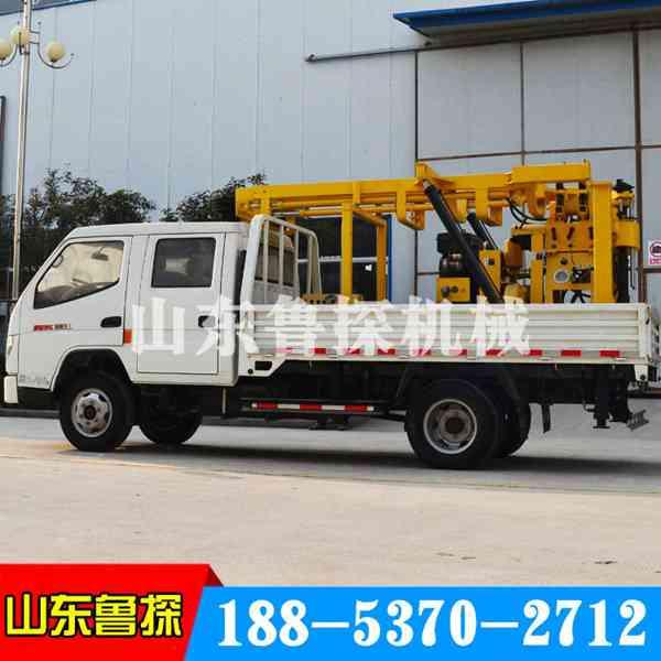 高效XYC-200车载式勘探钻机工程取样钻机岩石取芯不是事