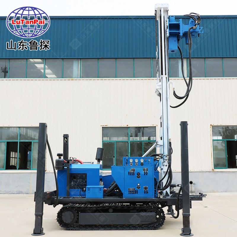 热销HBZ-2系列履带式环保钻机 液压直推取土 螺旋建井 一机多用