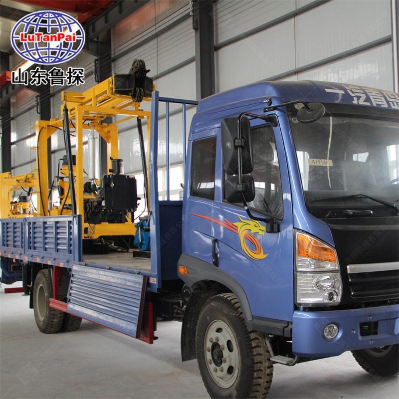 山东鲁探 跑的快XYC-200车载式水井钻机 轻卡水井设备