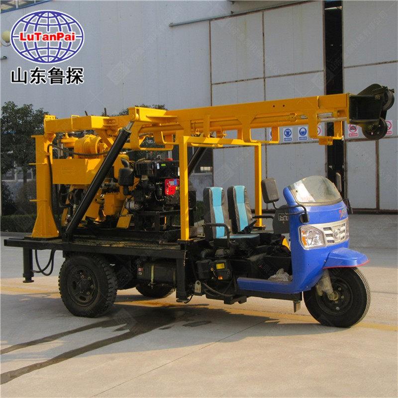 XYC-200A三轮车载液压岩芯钻机回钻式钻机移动方便勘探 钻采设备