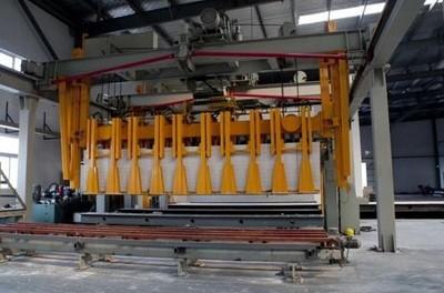 浅谈加气砌块生产线的生产质量管理