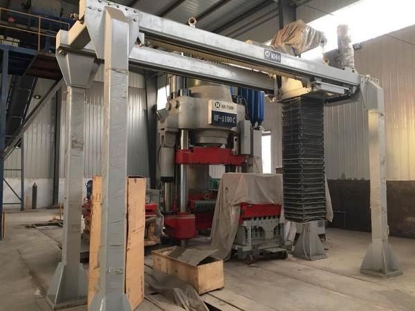 二手液压砖机HF-1290