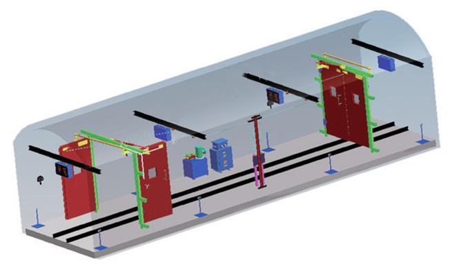 矿用无压风门自动控制系统ZMK127型风门电控装置原理