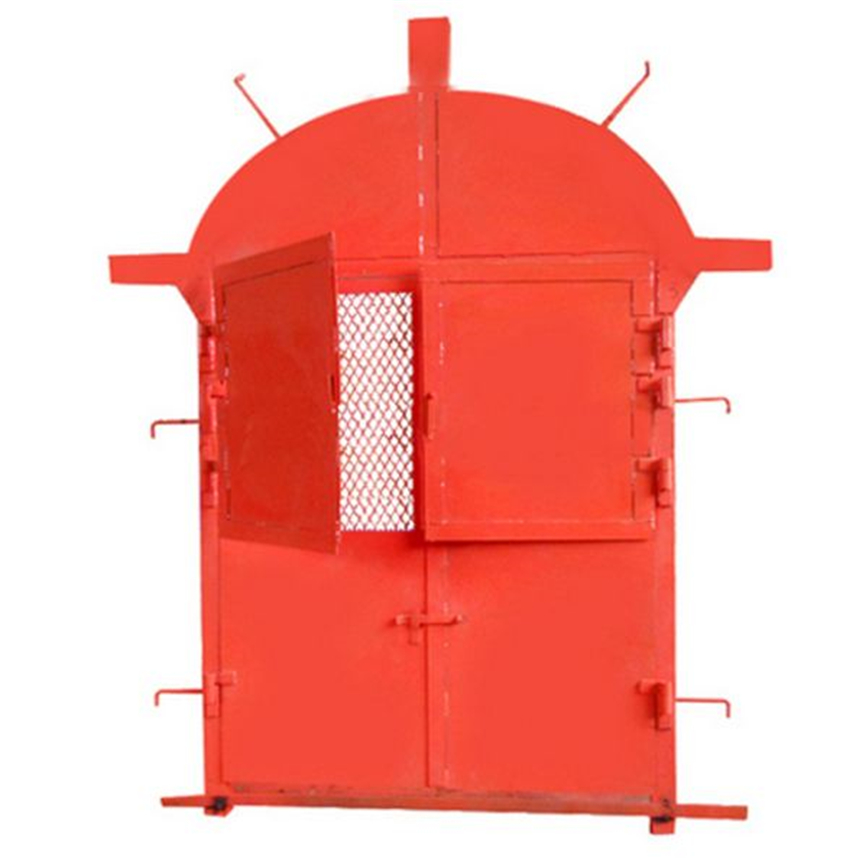 矿用防火栅栏门按需定做MFHSL型防火栅栏门