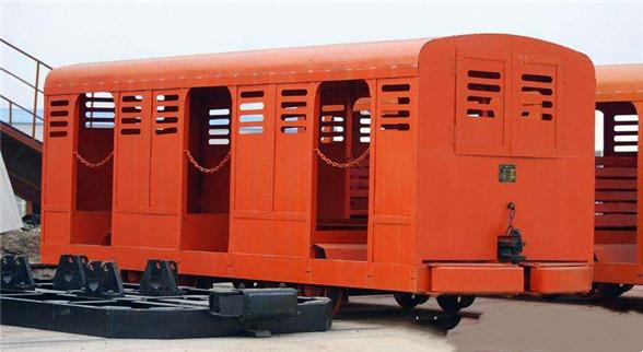 PRC系列平巷人车材质好矿车生产定做XRC12斜井人车
