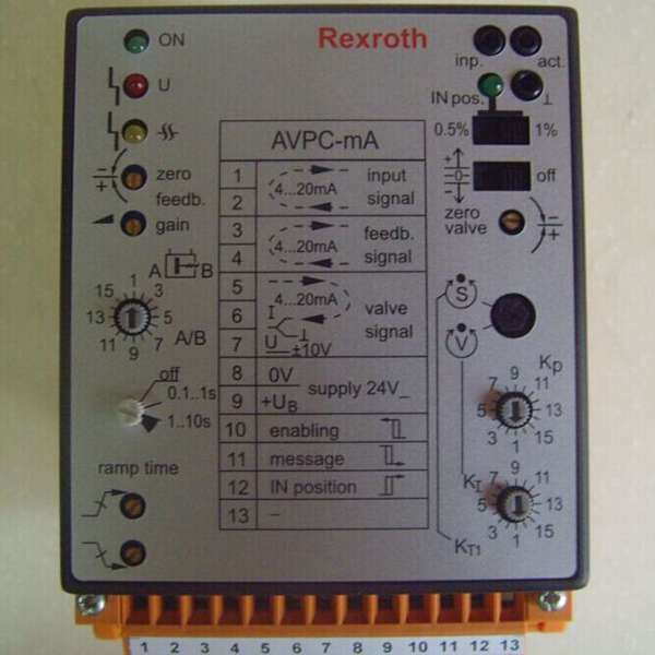 R901196678 VT5041-3X/3-0力士乐外部控制电子元件