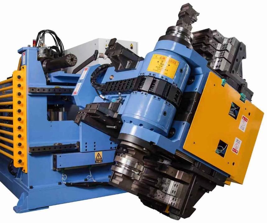 台湾瀚捷原装旋转头弯管机 多轴弯管机 多层模具设计