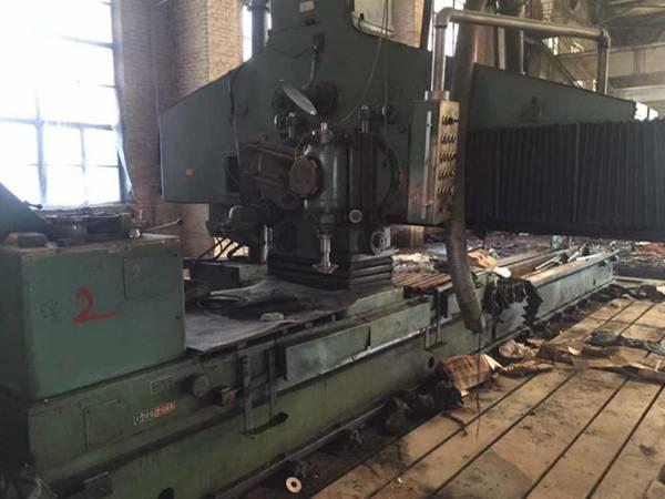低价出售:二手上海产M50100/6米落地导轨磨/导轨磨/磨床