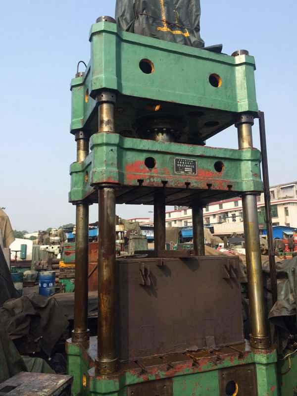 出售:二手合肥产YD32-315四柱液压机/油压机/压力机