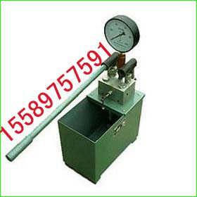 供应高品质手动双缸试压泵