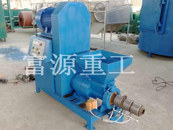 我厂热销50-80型新型节能高效制棒机系列制炭机设备