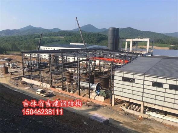 河北钢结构厂房—4月梨花香