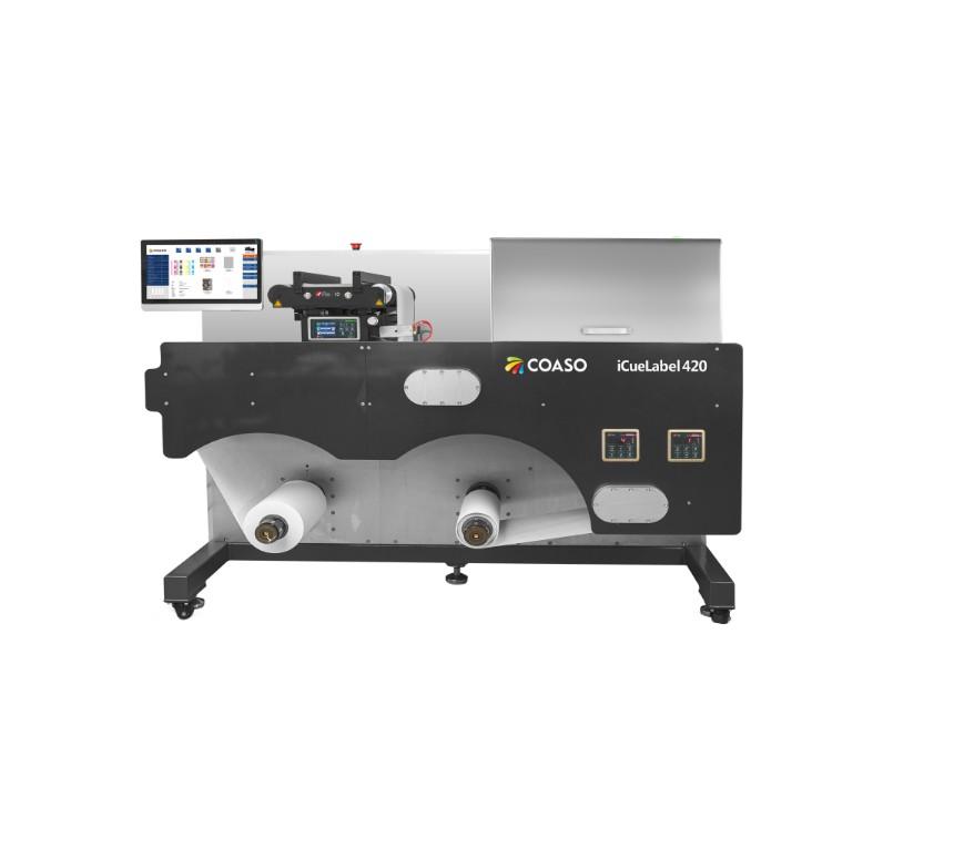 COASO iCueLabel 420 系列 生产型彩色数码印刷机