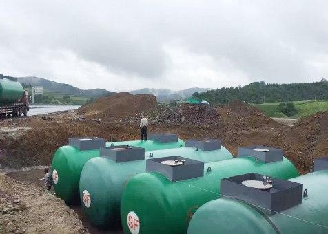 青海省秦豫钢结构专业销售最具发展潜力的SF双层罐机械设备产品