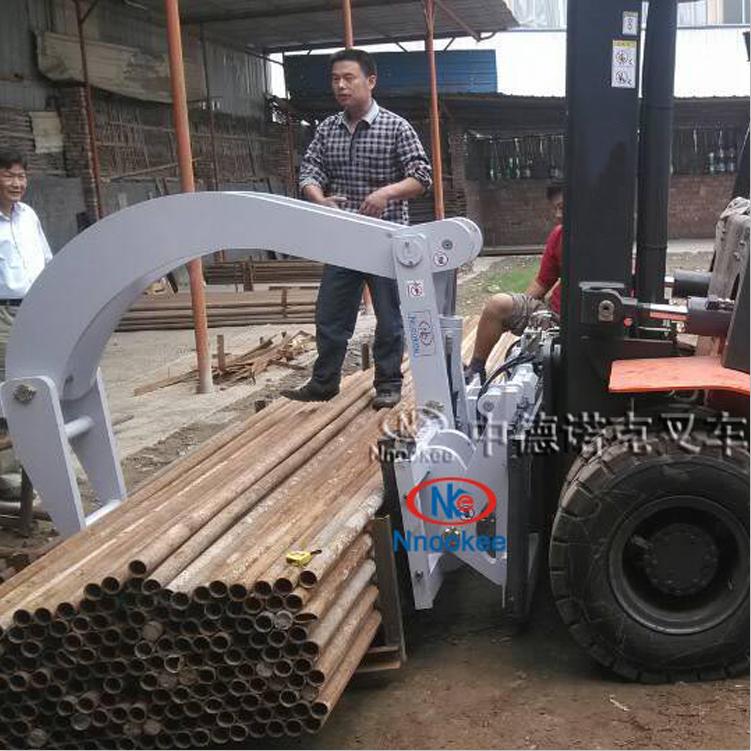 建材搬运机械设备叉车钢管夹建材装卸车叉车机械手
