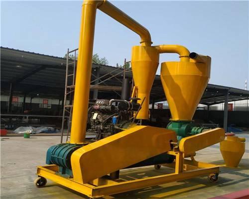 移动式柴油动力气力吸粮机 长软管玉米颗粒抽粮机