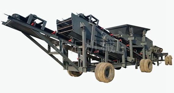 移动式石料制砂机