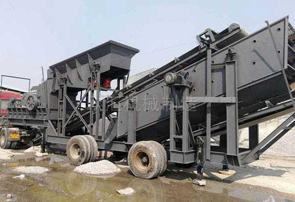 移动型河卵石制砂机