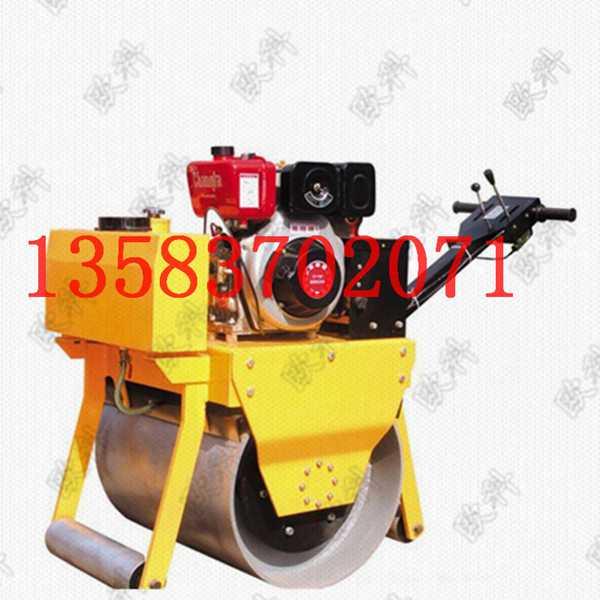 柴油小座驾压路机沟槽碾   驾驶型压实机沟槽碾