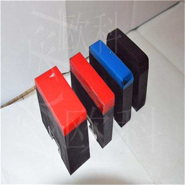 聚氨酯缓冲条  高分子板聚氨酯缓冲条 落料口缓冲条