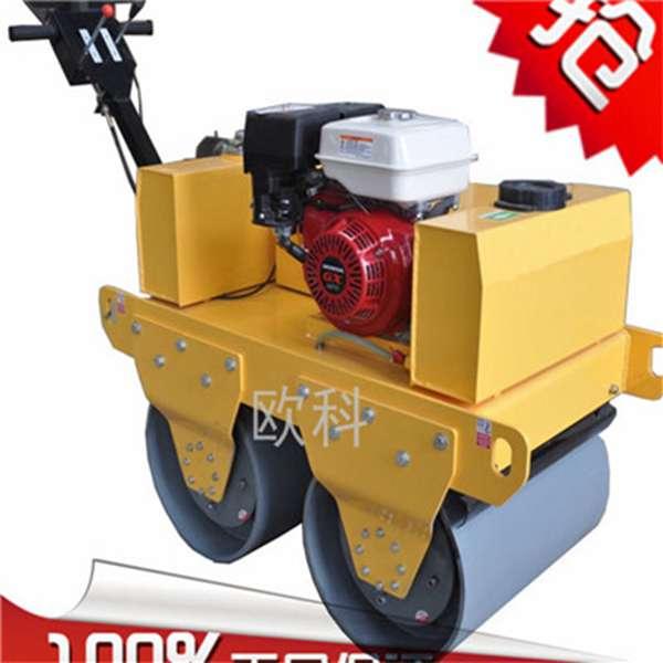 小型双轮碾压机 柴油风/水冷压路机