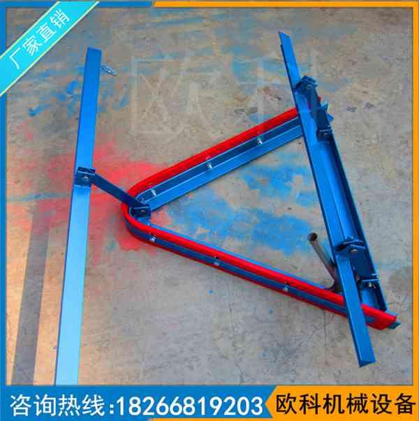矿用空段聚氨酯清扫器 压轮式O型聚氨酯清扫器