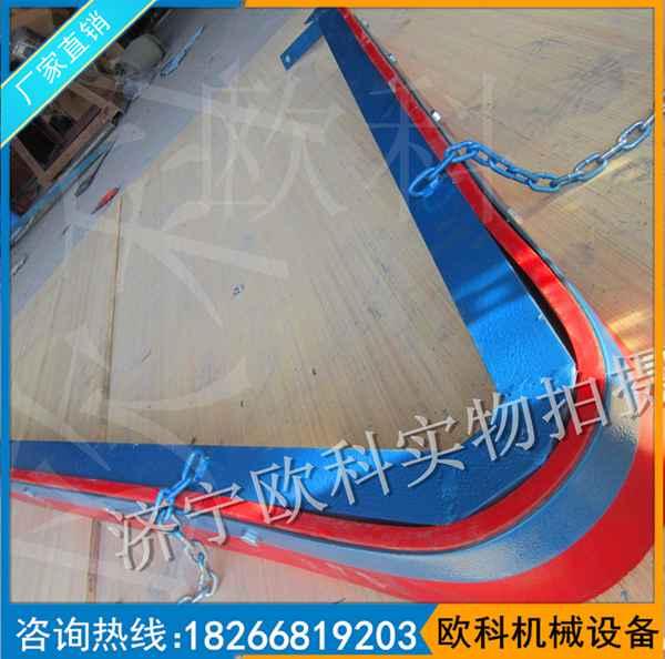 V型空段皮带清扫器 清扫器聚氨酯刮板