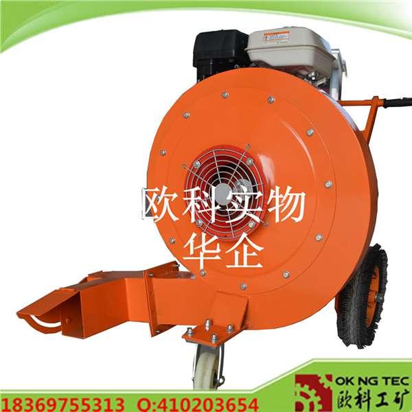 手推式马路吹风机路面铺设灰尘清理吹扫机