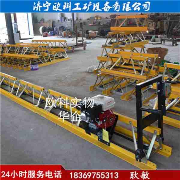 可起拱框架式振动梁7.5米框架式路面摊铺机11米振动梁