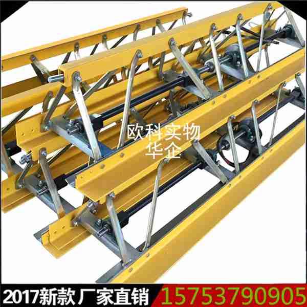 山东混凝土振动梁9.5米框架式振捣梁修广场码头专用整平机