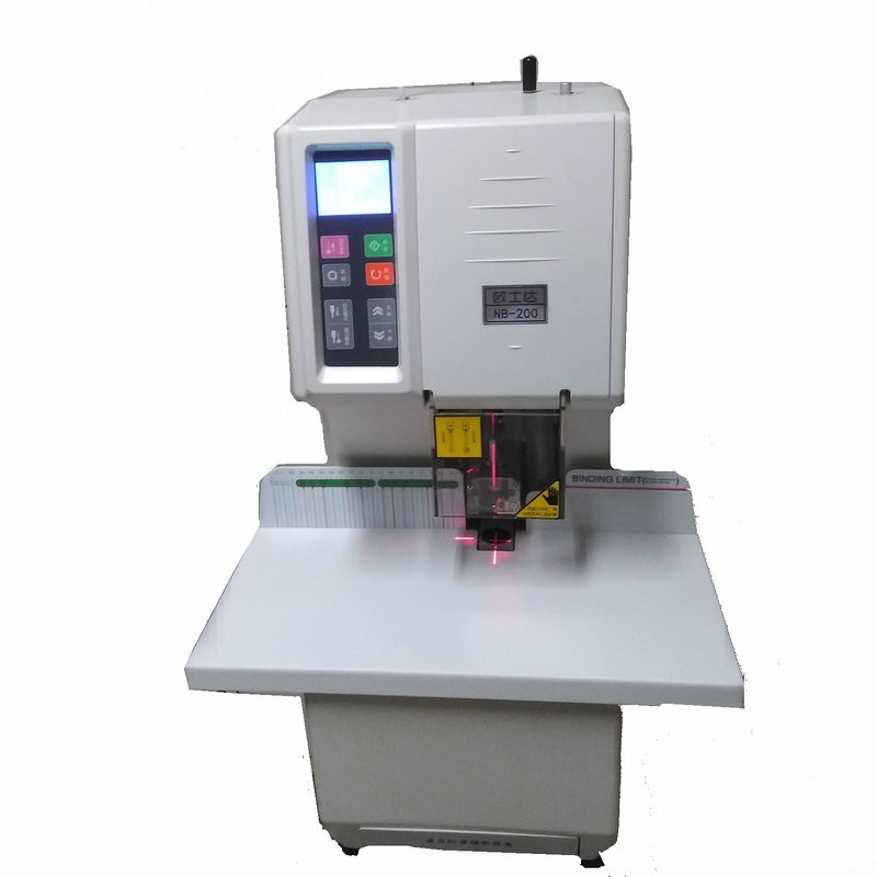 天意兴隆信 欧士达OESTAR NB-200升级版 全自动胶管装订机 财务凭证档